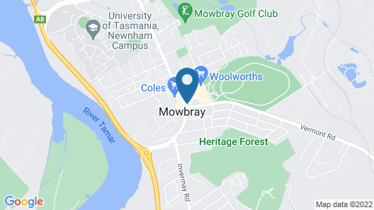 Mowbray Hotel Map