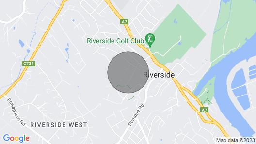 Large Modern Hilltop Home Close to CBD Map