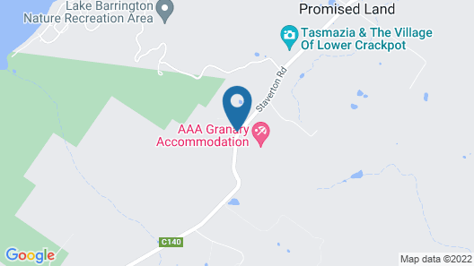 AAA Granary Accommodation Map