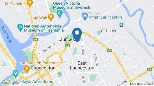 Areca Launceston Map