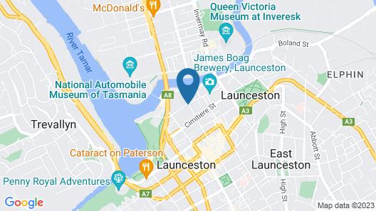The Sebel Launceston Map