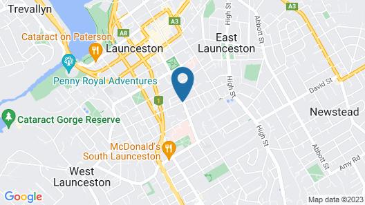 Sporties Hotel Map