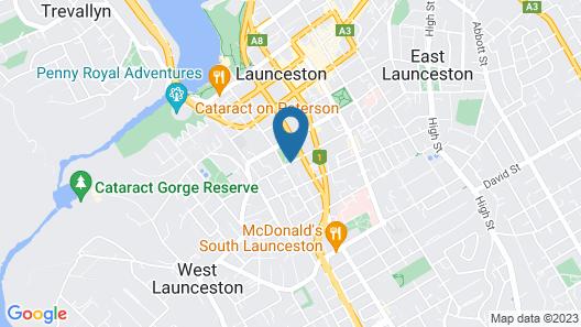 Launceston Backpackers - Hostel Map
