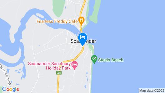Scamander Beach Resort Map