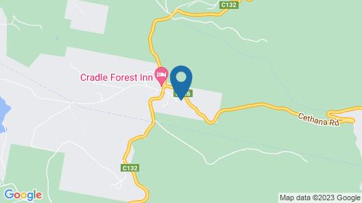 Cradle Alpine Retreat Map