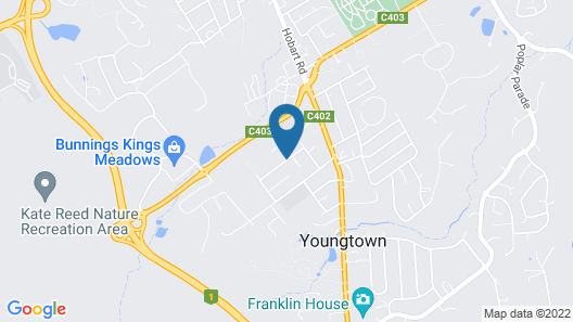 Youngtown Executive Apartments Map