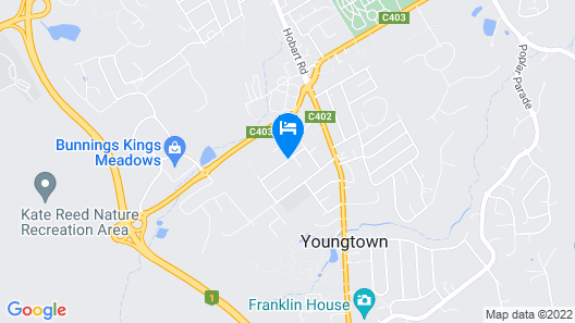 Youngtown Executive Apartments Map