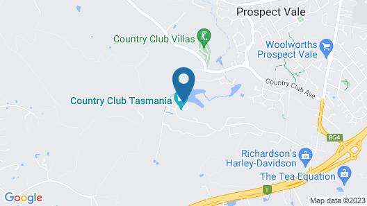 Country Club Tasmania Map
