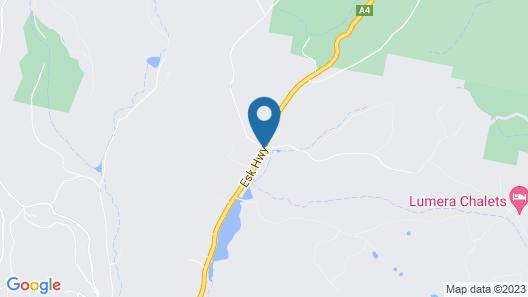 Lumera Chalets Map