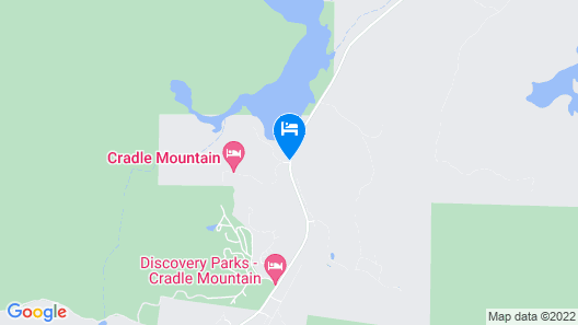 Cradle Mountain Hotel Map