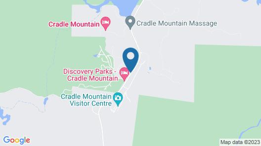 Cradle Mountain Wilderness Village Map