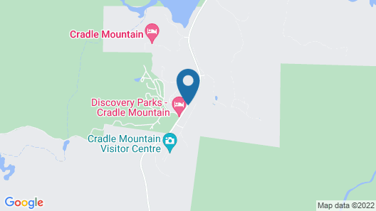 Cradle Mountain Highlanders Cottages Map