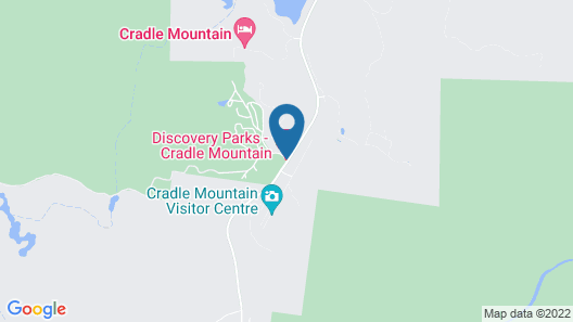 Discovery Parks - Cradle Mountain Map