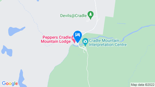 Peppers Cradle Mountain Lodge Map