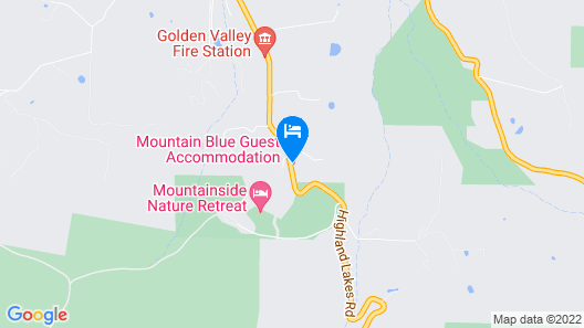 Mountain Blue Guest Accommodation Map