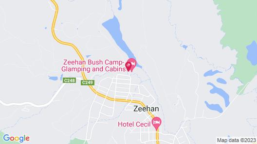 Zeehan Bush Camp Map