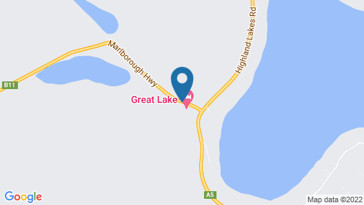 Great Lake Hotel Map