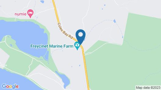 Fish at Freycinet Map