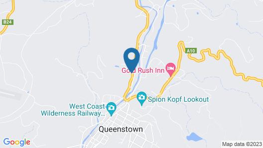 Silver Hills Motel Map