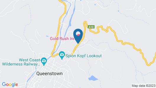 Gold Rush Inn Map