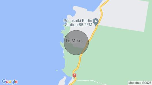Love Punakaiki Couples Retreat Map
