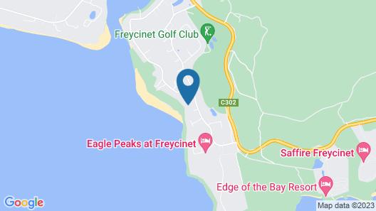 Sandbar Beach House Map