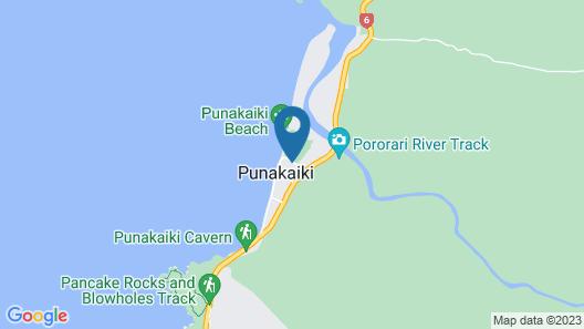 Punakaiki Beach Camp Map