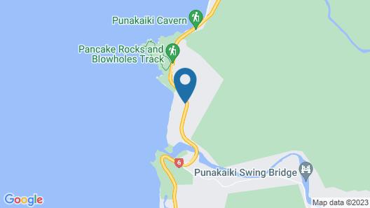 Punakaiki Resort Map