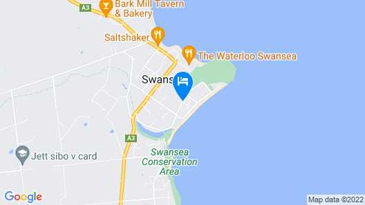 Swansea Holiday Park Map