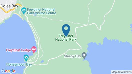 Coastal Pavilions At Freycinet Lodge Map