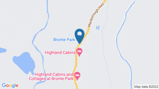 Highland Cabins and Cottages Map