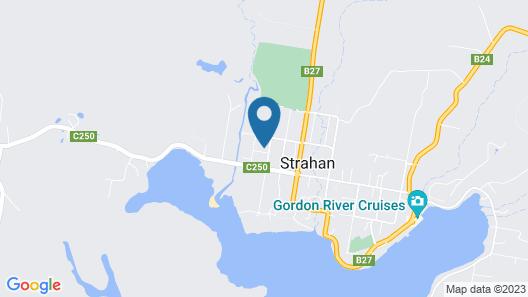 All Inn Strahan Holiday Units Map