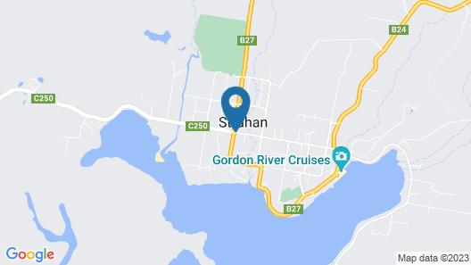 Strahan Bungalows Map