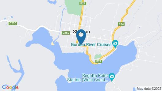Strahan Beach Tourist Park Map