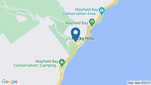 Rocky Hills Retreat Map