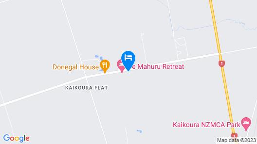 Te Mahuru Retreat Map
