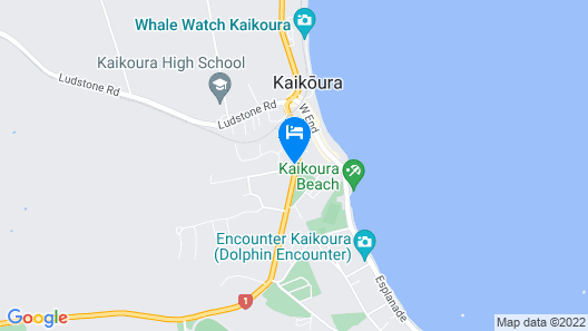 Kaikoura Gateway Motor Lodge Map