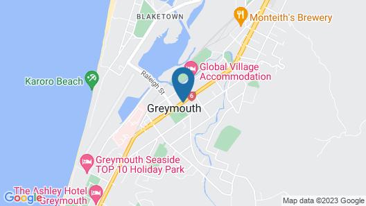 Gables Motor Lodge Map