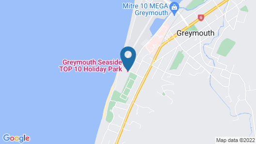 Greymouth Motels & Seaview Apartments Map
