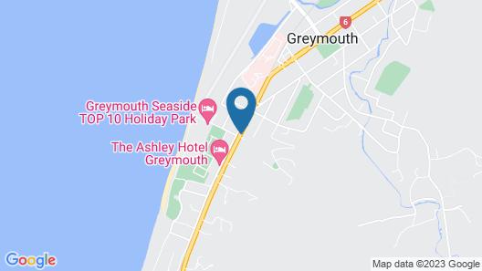 Greymouth Motel Map