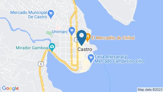 Refugio Pullao Map