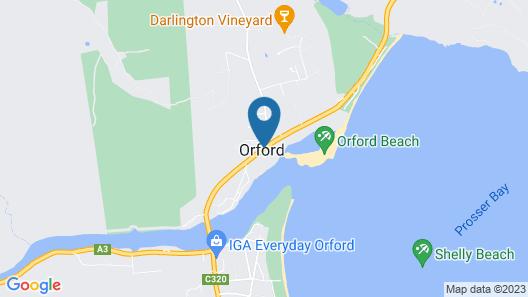 Island View Motel Map