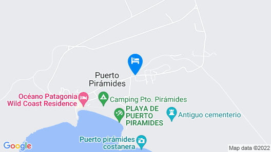 La Floridita Puerto Piramides Map