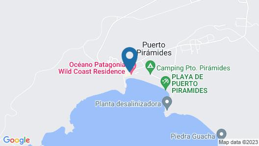 Oceano Patagonia Wild Coast Residence Map