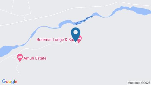 Braemar Lodge And Spa Map