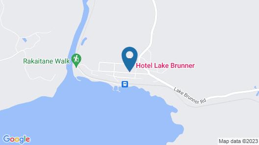 Hotel Lake Brunner Map