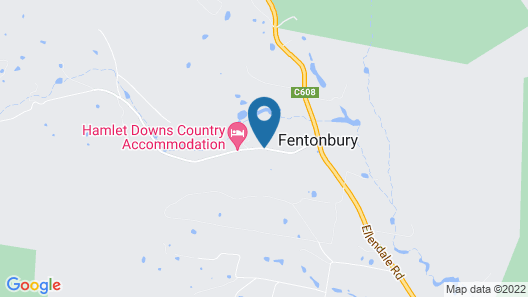 Hamlet Downs Country Accommodation Map
