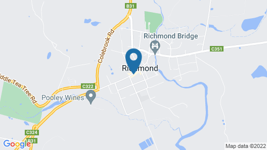 The Richmond Arms Hotel Map