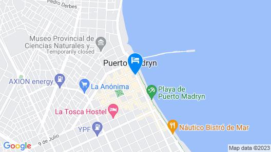 Hotel Península Valdés Map