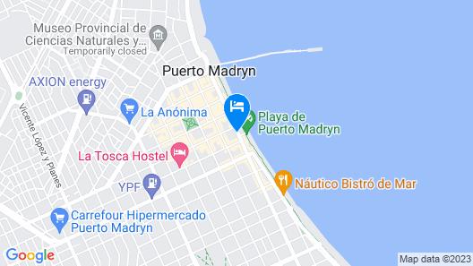 Hotel Pirén Map
